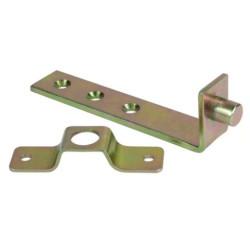 Механизм поворота вставки стола изонгуный (комплект: 2 личинки + 2 пластины)
