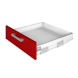 Держатель передней стенки ящика белый (Внутренний ящик)   Boyard SBН01/W