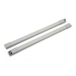 Рейлинг 450 мм серый прямоугольный  START   SBR09/GR/450