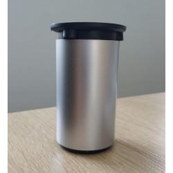 Ножка Н=100мм D50,пластик, мат.хром  цилиндр.                            (ДК 12-50)