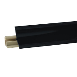 Плинтус столешницы LB 23 чёрный 619 3м (55)
