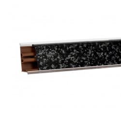 Плинтус столешницы Korner Черное серебро  LB-231-6114