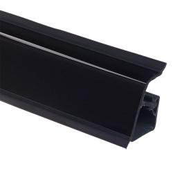 Плинтус столешницы Rehau 118 Черный  L=4,2м               (16016891004)