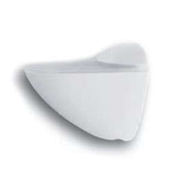 Пеликан  малый ,белый матовый                                                     GTV (PP-MP0055-10)