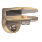 Полкодержатель под стекло, бронза                                   GIFF МР 4005   (73469) (50 шт)