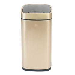 Ведро для мусора сенсорное 21литр, шампань                              (ЕК9288Р-21L-CG)
