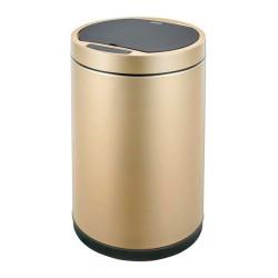 Ведро для мусора сенсорное 12литр, золотая шампань        (ЕК9285CG-12L)