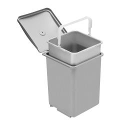 Ведро для мусора, серое 235*248                                    GTV (PB-91014100)