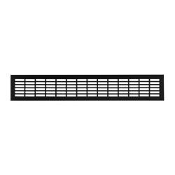 Решетка вентиляционная 480*80мм, черная                              (SETE VG-80480-20)