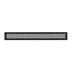 Решетка вентиляционная 484*60мм, черная                              (SETE VG-60484-20)