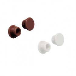 Заглушка тех. отверстий. пластиковая, D=5мм,   белая    ПРОДАЖА по 100шт  Hafele   (045.00.759)
