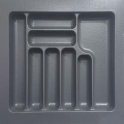 Лоток для столовых приборов серый 600 мм  (540x490x55)                  STARAX (S-2287)