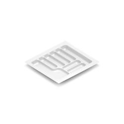 Лоток для столовых приборов белый 600 мм  (540x490x55)             STARAX (S-2656) (15 шт)