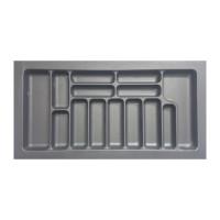 Лоток для столовых приборов белый 800 мм  (740x490x55)                  STARAX (S-2658)