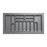 Лоток для столовых приборов белый 900 мм  (840x490x55)                  STARAX (S-2659)