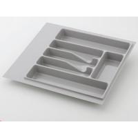Лоток для столовых приборов серый 600 мм  (470-540) х (380-490)                   Ц.К.(32/73.N60/GR)
