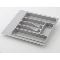 Лоток для столовых приборов серый 600 мм  (470-540) х (380-490)                   Ц.К.(32/72.N60/MT)