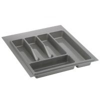 Лоток для столовых приборов серый 450 мм  (350-390) х (380-490)                   Ц.К.(32/73.N45/GR)