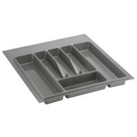 Лоток для столовых приборов серый 550 мм  (450-490) х (380-490)                   Ц.К.(32/73.N55/GR)