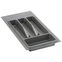 Лоток для столовых приборов серый 350 мм  (230-270) х (380-490)                   Ц.К.(32/73.N35/GR)