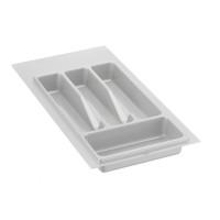 Лоток для столовых приборов белый 300 мм  (200-240) х (380-490)                  Ц.К.(32/72.N30/Bl)