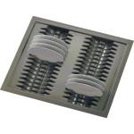 Лоток для тарелок серый  600мм (540-500) х (490-440)                                   Ц.К.(53786034