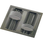 Лоток для тарелок серый  900мм (840-800) х (490-440)               Ц.К.(5378903425025-01)
