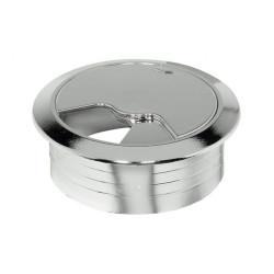 Заглушка для проводов диам. 60мм,шлифованный никель                               А (23586)