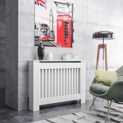 Экран на радиатор модель № 642 белый 1120*190*810