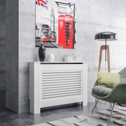Экран на радиатор модель № 720 белый 1120*190*810