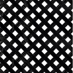 Решетка декоративная 1225*605, Черный