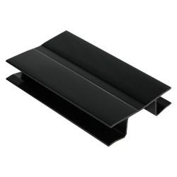 Угол поворотный для цоколя 10 см. черный                             Ц.К.(21/19.H2...)