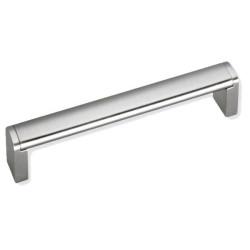 Ручка скоба 160 мм ,атласный никель