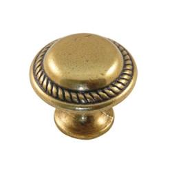 Ручка кнопка ,бронза                                              А (17275) (80 шт)