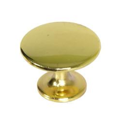 Ручка кнопка большая золото                                     Идеа (5393)