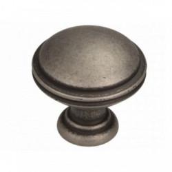 Ручка кнопка, античное серебро                                                    Ц.К. ( GR49-G0031)