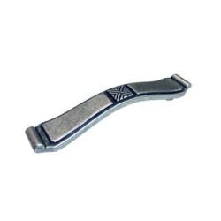 Ручка-скоба L - 128, старинное серебро                                   Ц.К.(WMN.628.128.00E8)