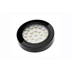 Светильник диодный 12 В, цвет черный,  холодный белый 1,7W  VASCO (LD-VA24ZB-20)