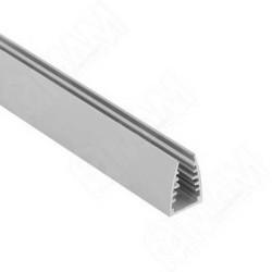 Профиль светодиодный LED для подсветки стекла 5мм, L-2м   (1318)