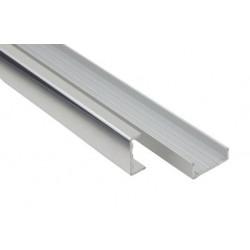 Профиль алюминиевый торцовочный 20 мм  (5,4 м)