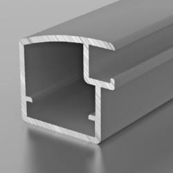 F1-14 Алюминиевый профиль рамочный серебро, матовый 5,9м