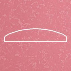 Профиль МДФ 0810  розовый шёлк 5090