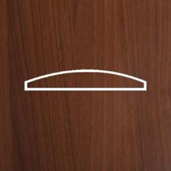 Профиль МДФ 0815 орех темный K.CEVIZ 1080