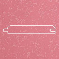 Профиль МДФ 0840  розовый шелк  5090