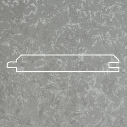 Профиль МДФ 0840  титановый шелк F.GUMUS 5120