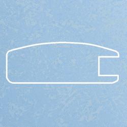 Профиль МДФ 1800  голубой шёлк P.MAVI 5070