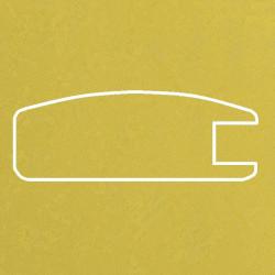 Профиль МДФ 1800  желтый шёлк SARI 5020