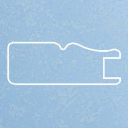 Профиль МДФ 1811 голубой шелк P.MAVI  5070