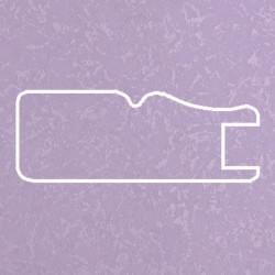 Профиль МДФ 1811 сиреневый шелк LILA 5060