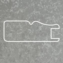Профиль МДФ 1811 титановый шелк  F.GUMUS 5120